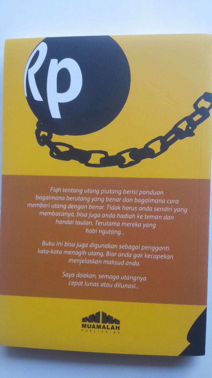 Buku Fikih Utang Ada Orang Utang 35.000 5% 33.250 Muamalah Publishing Ammi Nur Baits cover