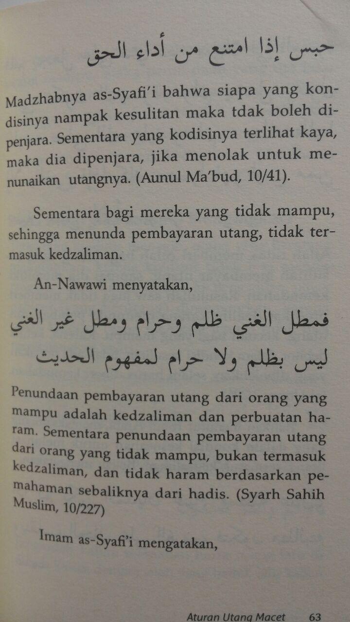 Buku Fikih Utang Ada Orang Utang 35.000 5% 33.250 Muamalah Publishing Ammi Nur Baits isi 4