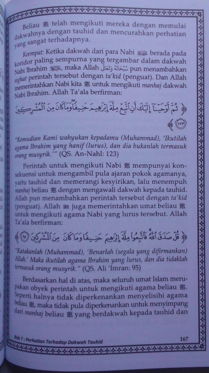 Buku Fiqih Dakwah Para Nabi 65.000 20% 52.000 Media Tarbiyah Prof. DR. Rabi bin Hadi Al-Madkhali isi 3