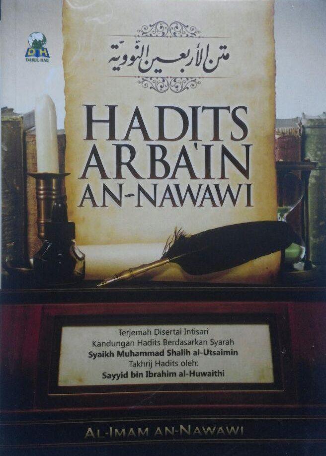 Buku Hadits Arba'in An-Nawawi Terjemah Intisari Kandungan Hadits 17.000 15% 14.450 Darul Haq Imam An-Nawawi cover 2