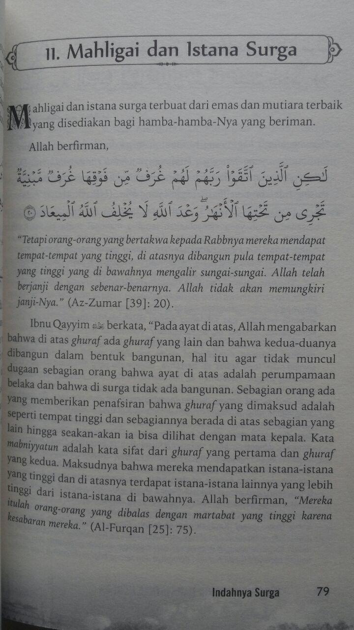 Buku Indahnya Surga Dahsyatnya Neraka 60.000 20% 48.000 Granada Mediatama Abu Fatiah Al-Adnani isi 2