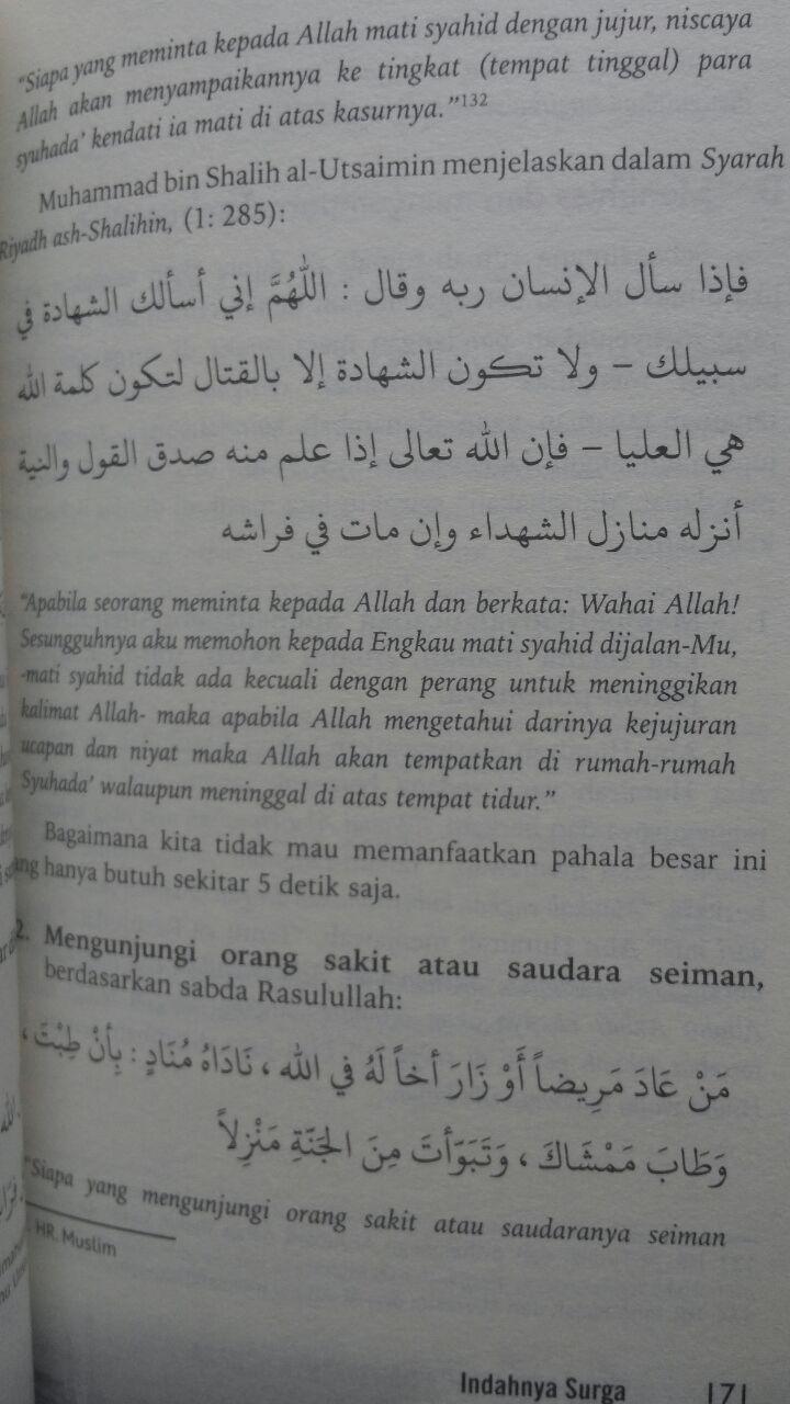 Buku Indahnya Surga Dahsyatnya Neraka 60.000 20% 48.000 Granada Mediatama Abu Fatiah Al-Adnani isi