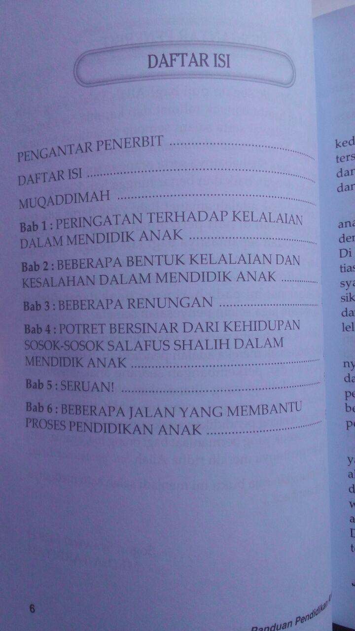 Buku Jangan Salah Mendidik Anak Kiat Mencetak Anak Shalih 25.000 15% 21.250 Media Tarbiyah DR. Muhammad bin Ibrahim Al-Hamd isi