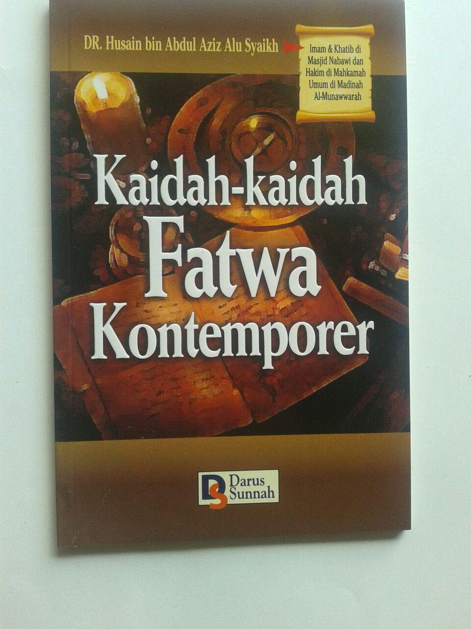 Buku Kaidah-Kaidah Fatwa Kontemporer 19.000 15% 16.150 Darus Sunnah DR. Husain Bin Abdul Aziz Alu Syaikh cover 2