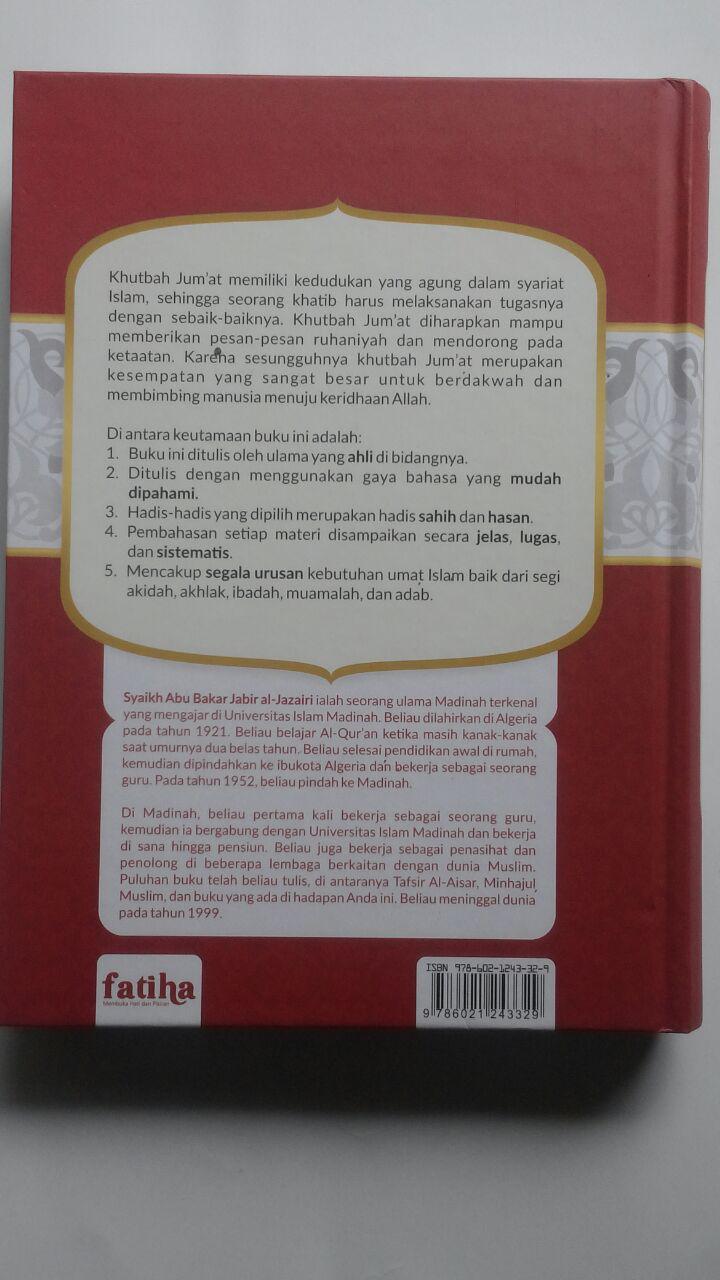 Buku Khutbah Jum'at Pilihan Setahun Lengkap 7 In 1 129.000 20% 103.200 Fatiha Abu Bakar Jabir Al-Jazairi cover