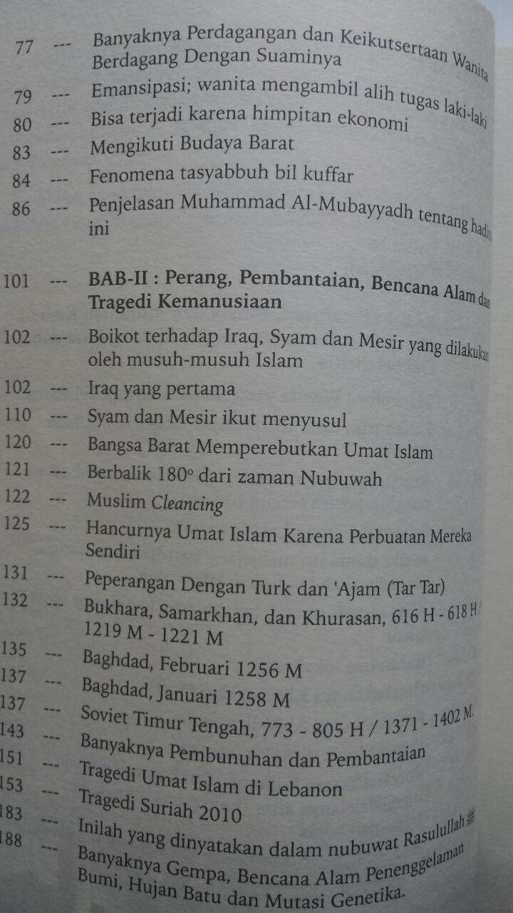 Buku Kita Berada Di Akhir Zaman Menyingkap Nubuwah Rasul 65.000 20% 52.000 Granada Mediatama Abu Fatiah Al-Adnani isi 3