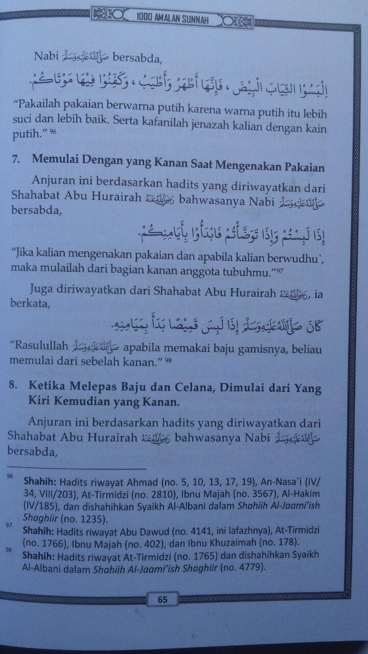 Buku Kupas Tuntas 1000 Amalan Sunnah Sehari-Hari 53.000 20% 42.400 Media Tarbiyah Khalid Al-Husainan isi 2