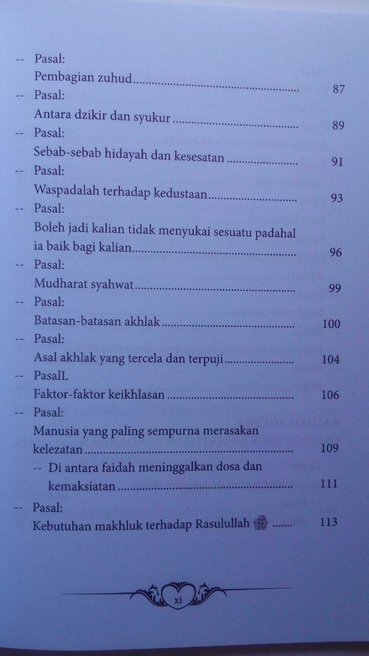 Buku Mukhtashar Al-Fawaid Untaian Faidah Penuh Hikmah 26.000 15% 22.100 Griya Ilmu Ibnul Qayyim Al-Jauziyyah isi 3