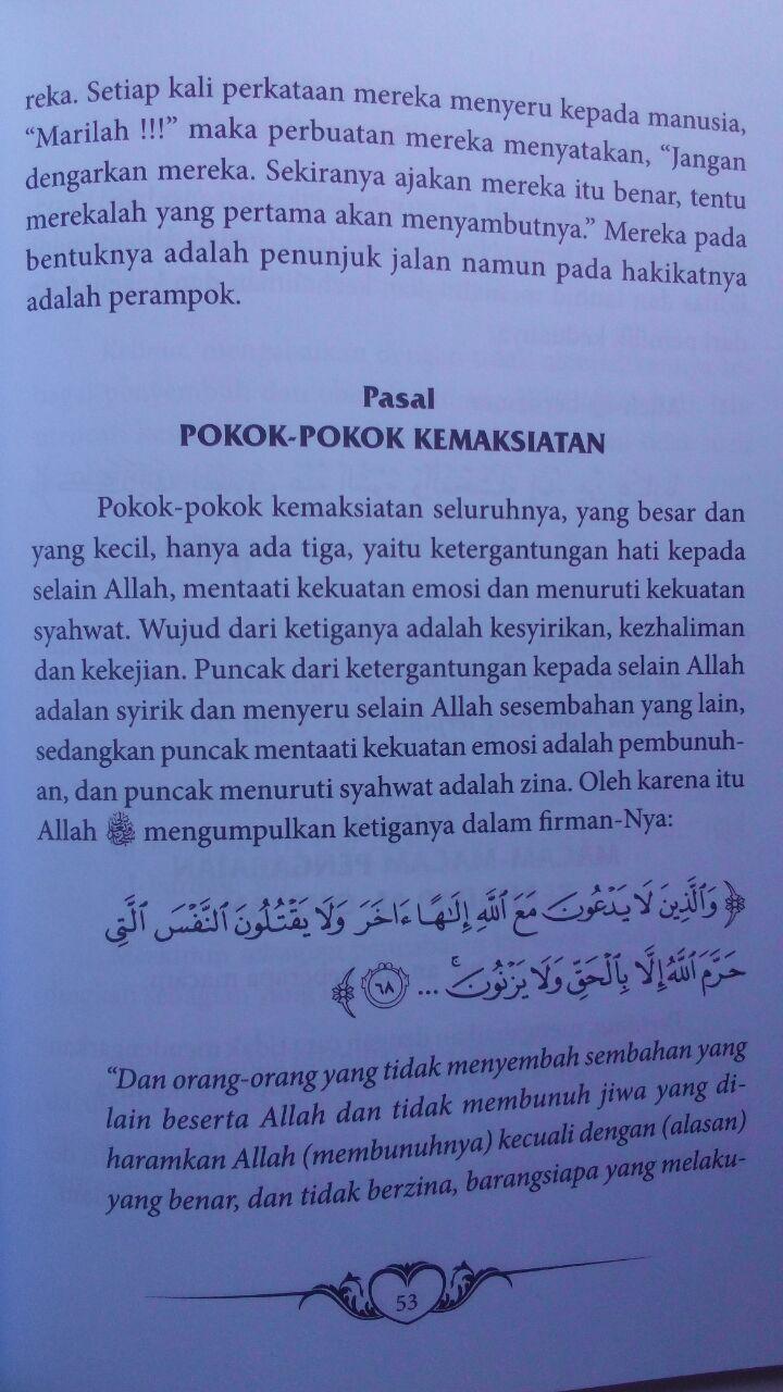 Buku Mukhtashar Al-Fawaid Untaian Faidah Penuh Hikmah 26.000 15% 22.100 Griya Ilmu Ibnul Qayyim Al-Jauziyyah isi 4