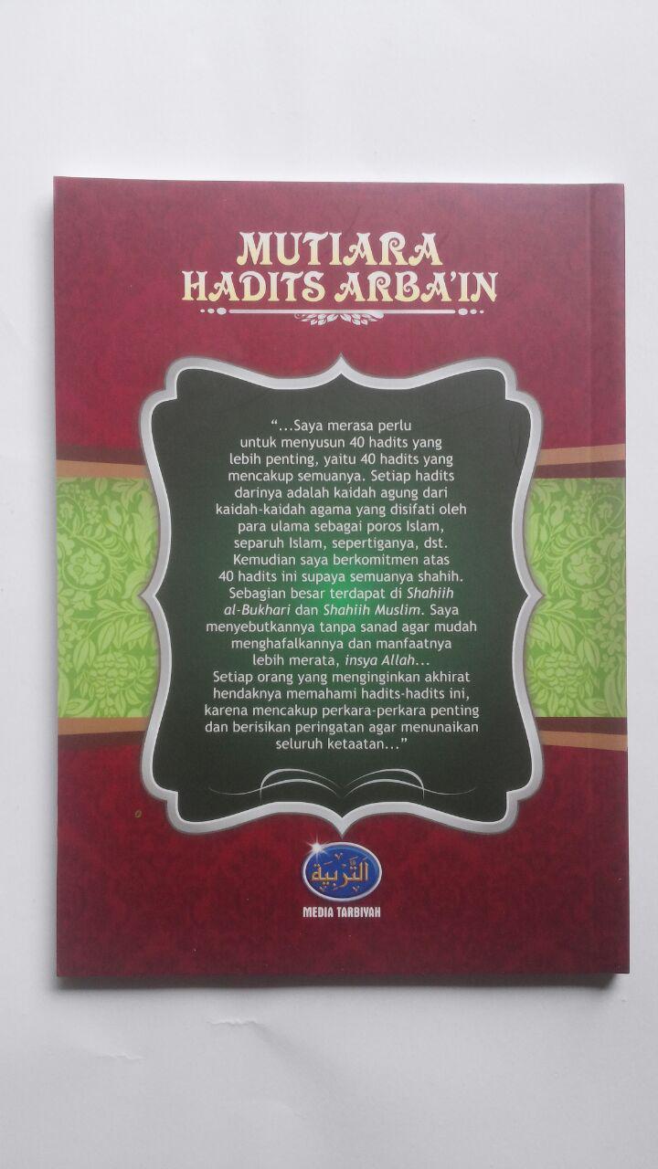 Buku Mutiara Hadits Arbain 42 Hadits Pondasi Agama 17.000 15% 14.450 Media Tarbiyah Abu Abdillah Syahrul Fatwa Al-Atsari cover