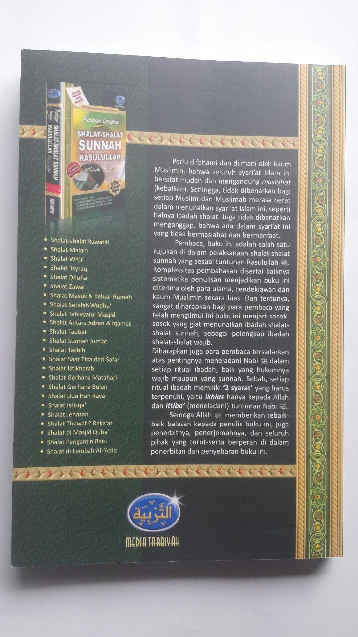 Buku Panduan Lengkap Shalat-Shalat Sunnah Rasulullah 45.000 15% 38.250 Media Tarbiyah Muhammad bin Umar Bazmul cover