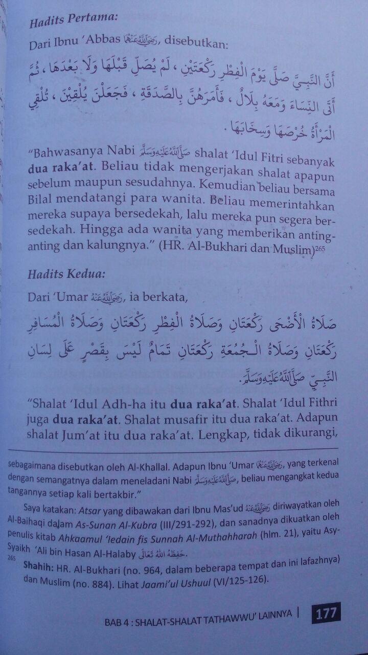 Buku Panduan Lengkap Shalat-Shalat Sunnah Rasulullah 45.000 15% 38.250 Media Tarbiyah Muhammad bin Umar Bazmul isi 3