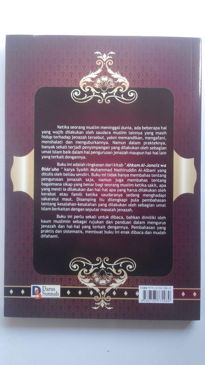 Buku Panduan Praktis Hukum Jenazah 32.000 15% 27.200 Darus Sunnah Muhammad Nashiruddin Al-Albani cover