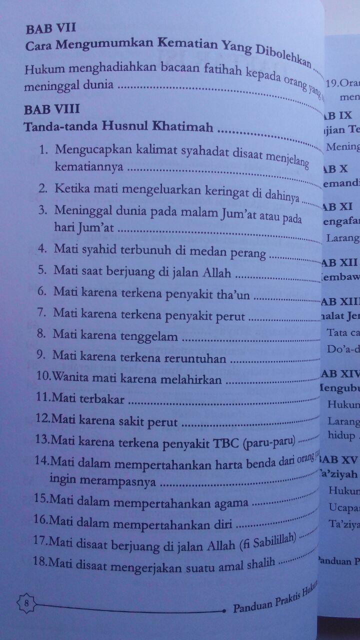 Buku Panduan Praktis Hukum Jenazah 32.000 15% 27.200 Darus Sunnah Muhammad Nashiruddin Al-Albani isi 2
