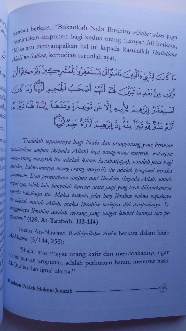 Buku Panduan Praktis Hukum Jenazah 32.000 15% 27.200 Darus Sunnah Muhammad Nashiruddin Al-Albani isi 3