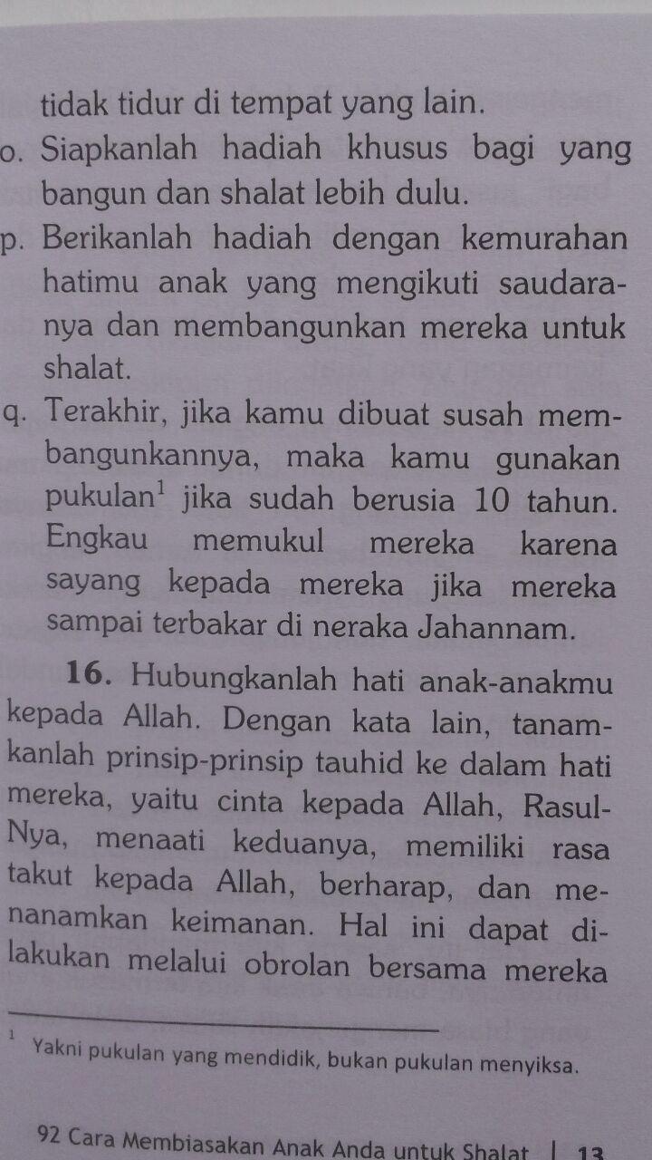 Buku Saku 92 Cara Membiasakan Anak Shalat 6.000 15% 5.100 Pustaka Imam Adz-Dzahabi Hanna binti Abdul Aziz Ash-Shani isi 2