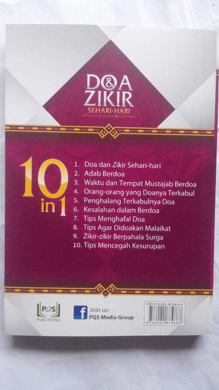 Buku Saku Doa Zikir Sehari-Hari Menurut Al-Quran As-Sunnah 20.000 15% 17.000 PQS Publishing DR. Sa'id bin Ali Al-Qahthani cover