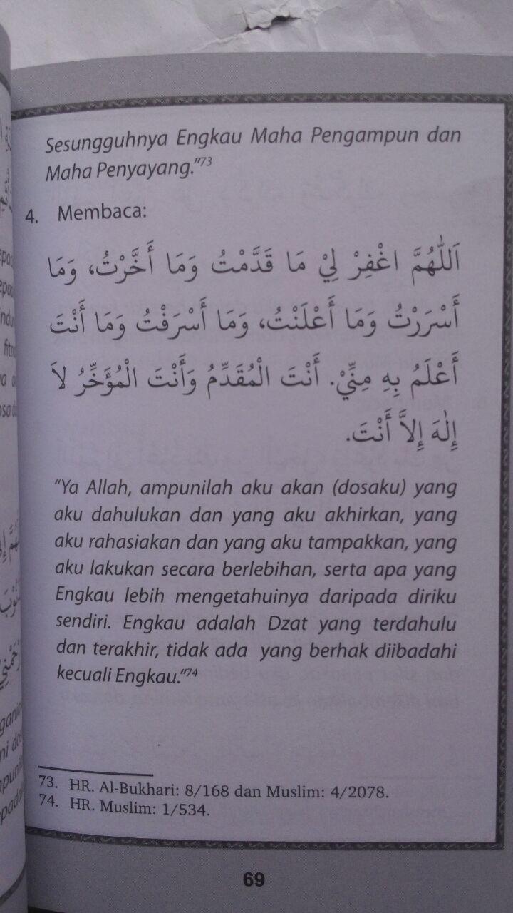 Buku Saku Doa Zikir Sehari-Hari Menurut Al-Quran As-Sunnah 20.000 15% 17.000 PQS Publishing DR. Sa'id bin Ali Al-Qahthani isi