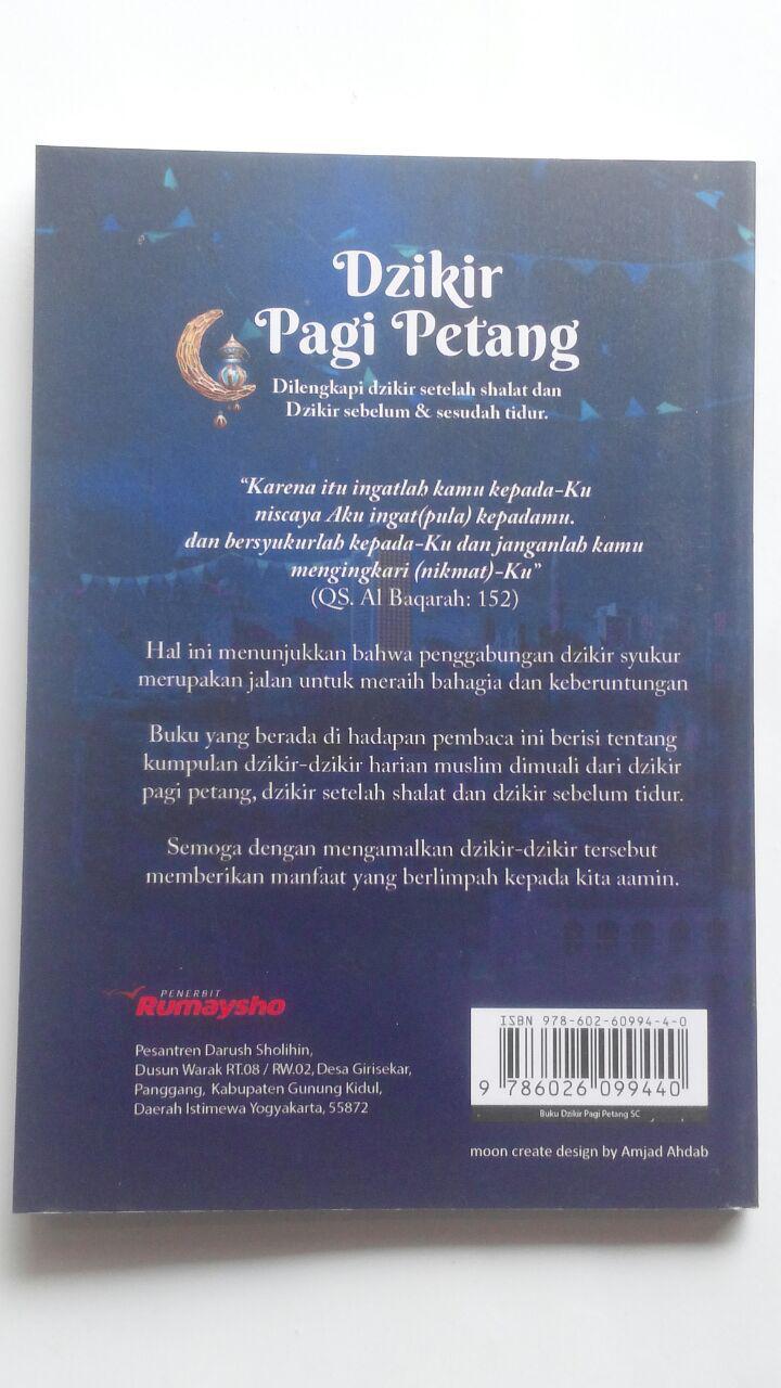 Buku Saku Dzikir Pagi Petang Setelah Shalat Fardhu Transliterasi 9.000 15% 7.650 Rumaysho Muhammad Abduh Tuasikal cover