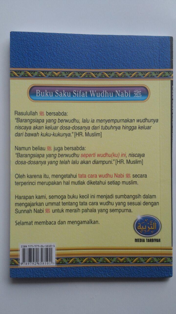 Buku Saku Sifat Wudhu Nabi Disertai Gambar 12.000 15% 10.200 Media Tarbiyah Syaikh Abu Bakar Jabir Al-Jazairi cover