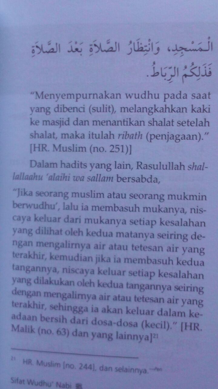 Buku Saku Sifat Wudhu Nabi Disertai Gambar 12.000 15% 10.200 Media Tarbiyah Syaikh Abu Bakar Jabir Al-Jazairi isi 2