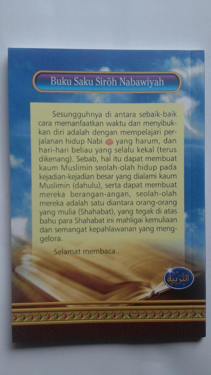 Buku Saku Siroh Nabawiyah Sketsa Singkat Sejarah Nabi 12.000 15% 10.200 Media Tarbiyah Tim Kajian Darul Wathan Saudi Arabia cover
