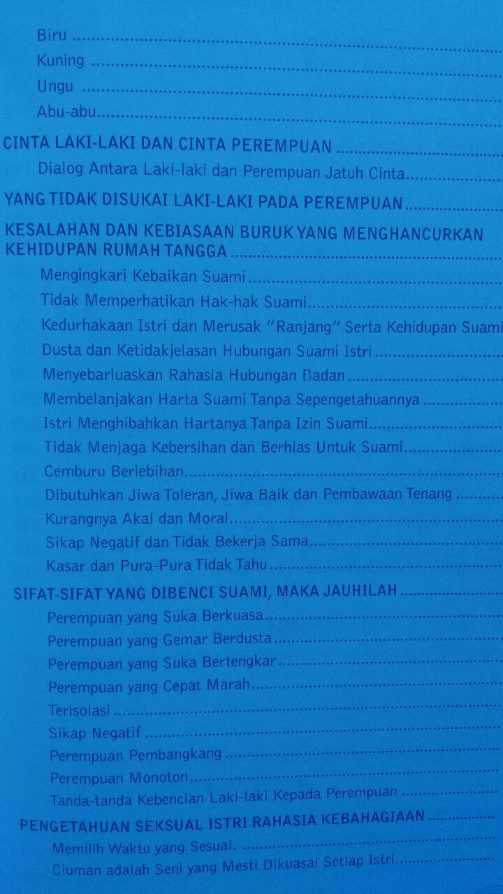 Buku Sayang Istri Selamanya 39.000 15% 33.150 Zam Zam isi 2