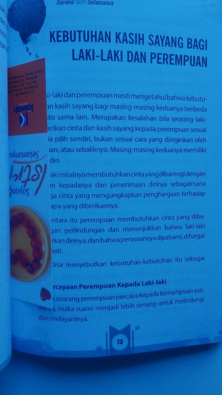 Buku Sayang Istri Selamanya 39.000 15% 33.150 Zam Zam isi 3
