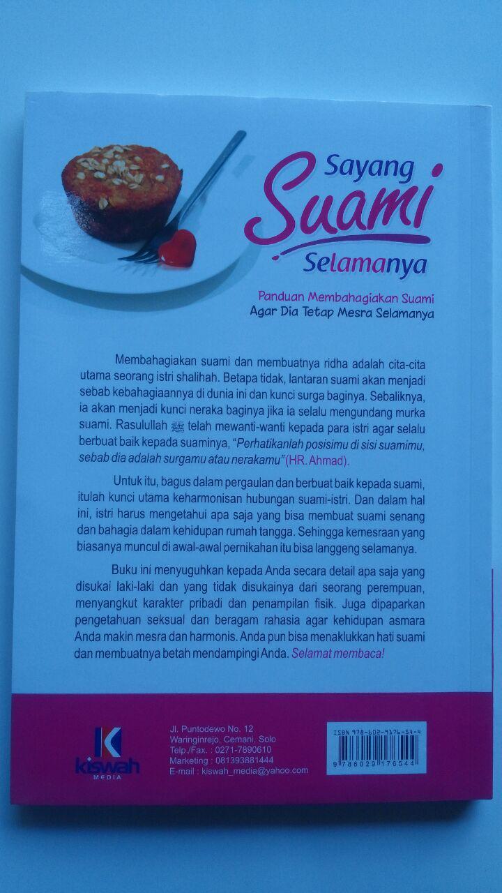 Buku Sayang Suami Selamanya 36.000 15% 30.600 Zam Zam cover 2
