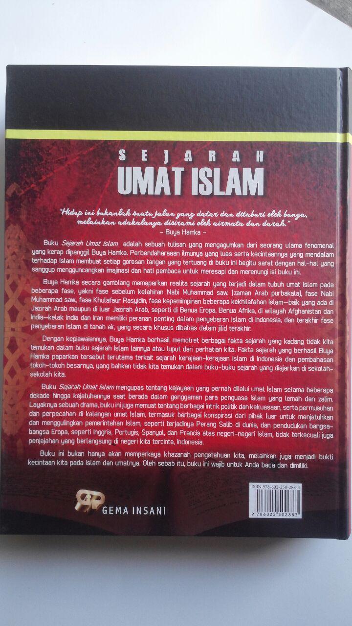 Buku Sejarah Umat Islam Pra Kenabian Hingga Islam Di Nusantara 230.000 15% 195.500 Gema Insani Press cover