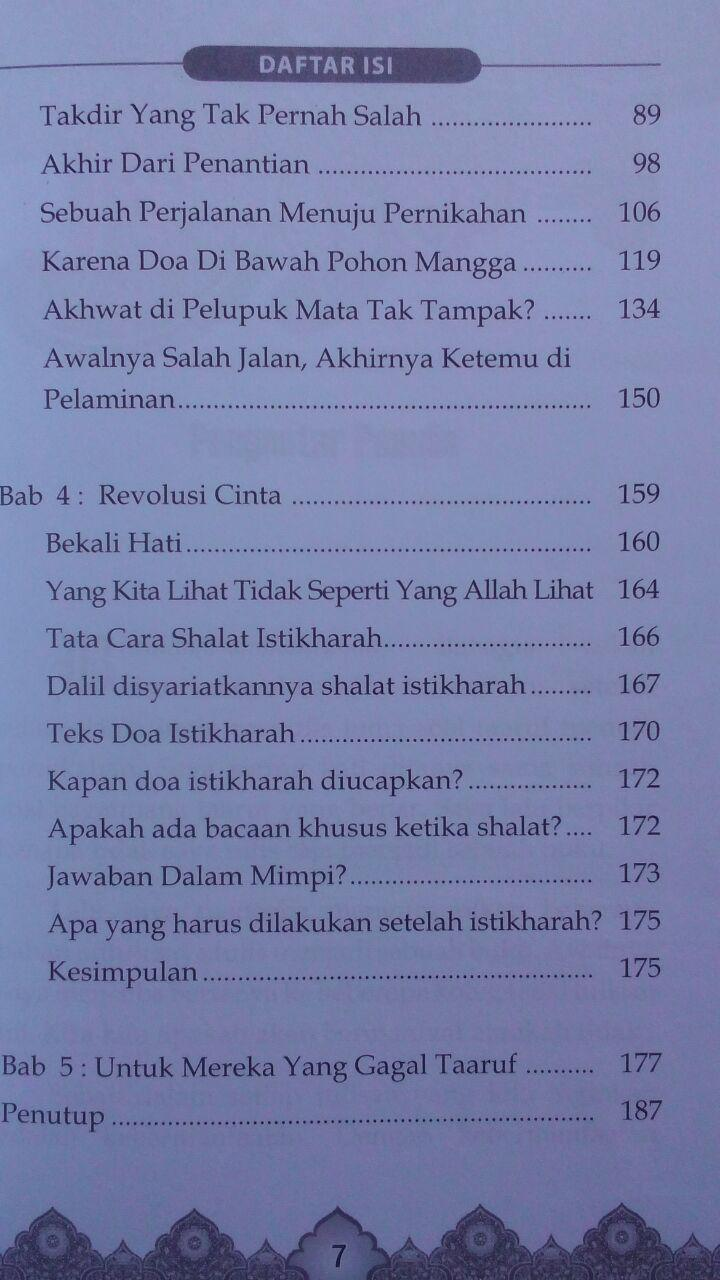 Buku Taaruf Terindah Menuju Pernikahan Barokah 35.000 15% 29.750 Gazza Media Burhan Sodiq isi 2