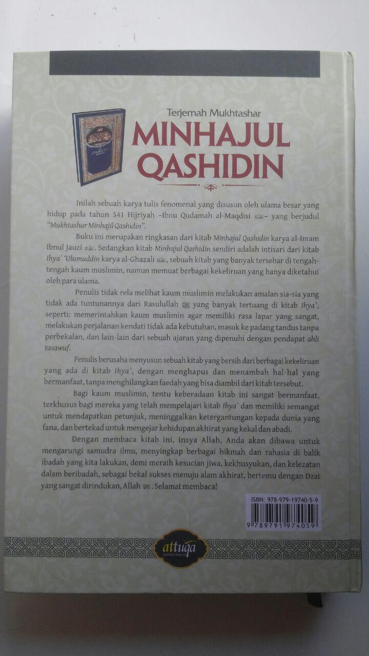 Buku Terjemah Mukhtashar Minhajul Qashidin 145.000 15% 123.250 Attuqa Ibnu Qudamah Al-Maqdisi cover