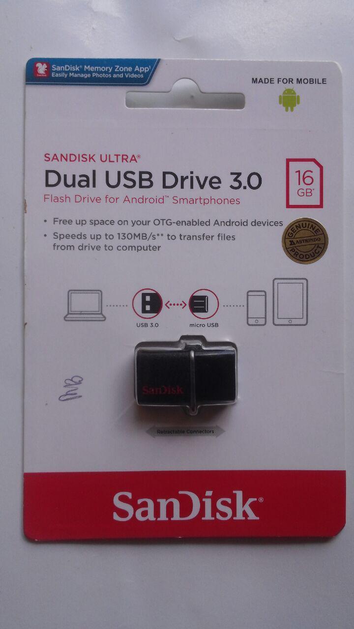 Flashdisk Belajar Bahasa Arab 16 GB Dual OTG 200.000 5% 190.000 Bisa cover 4