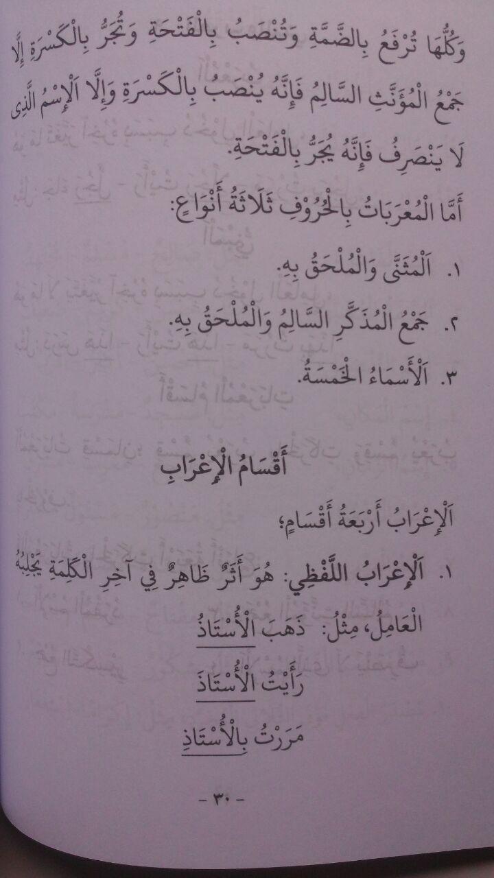Kitab Bundel Al Muyassar Fii Ilmin Nahwi Set 3 Jilid 79.000 20% 63.200 Ibn Azka Press isi 4