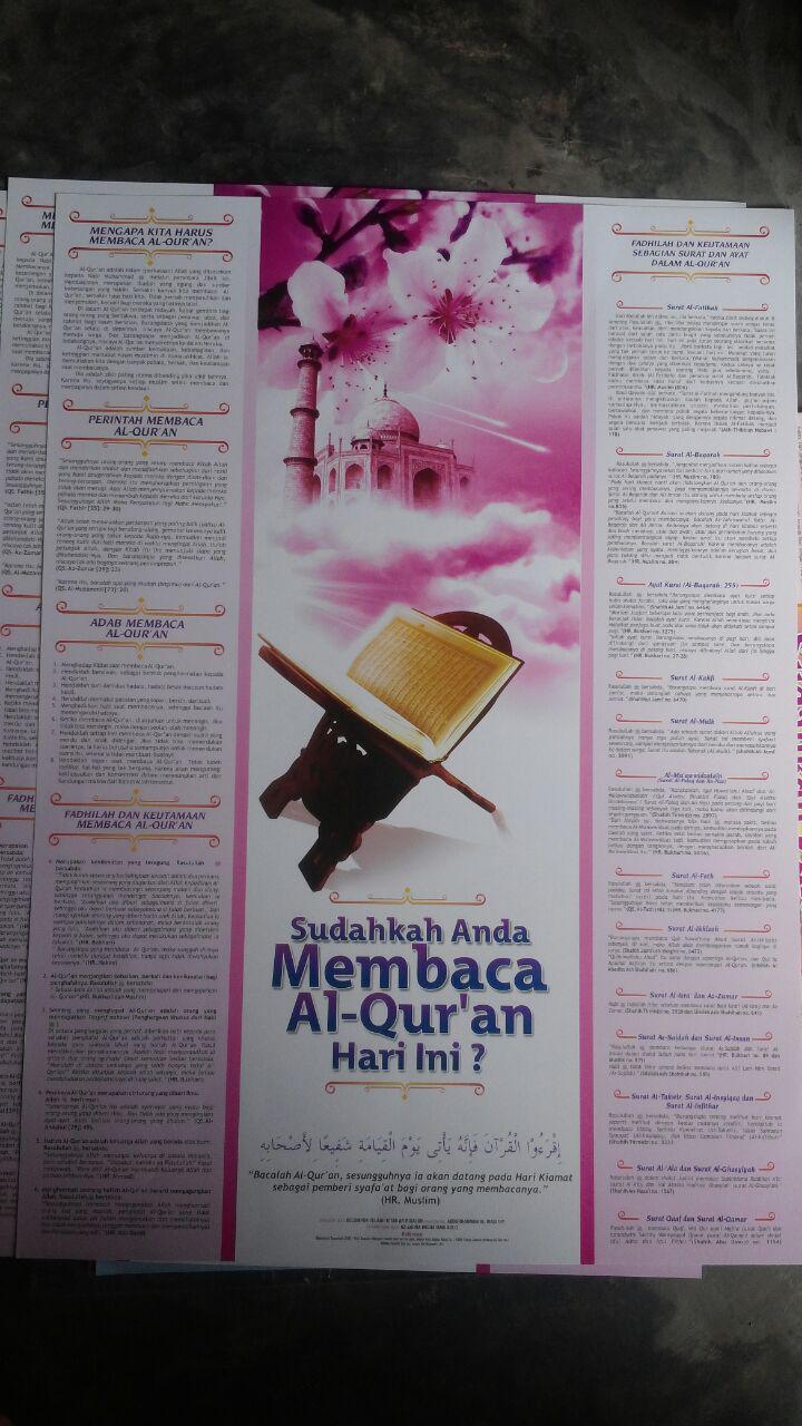 Poster Sudahkah Anda Membaca Al-Quran Hari Ini 15.000 15% 12.750 Granada Mediatama 2