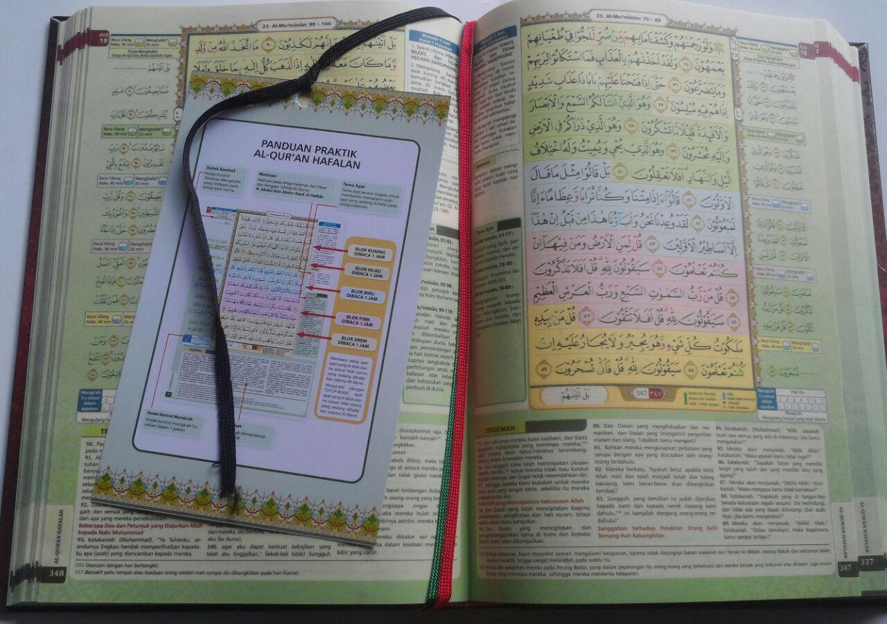Al-Qur'an Hafalan Mudah Terjemah Tajwid Warna Al-Hufaz 79.500 15% 67.575 Cordoba isi 4