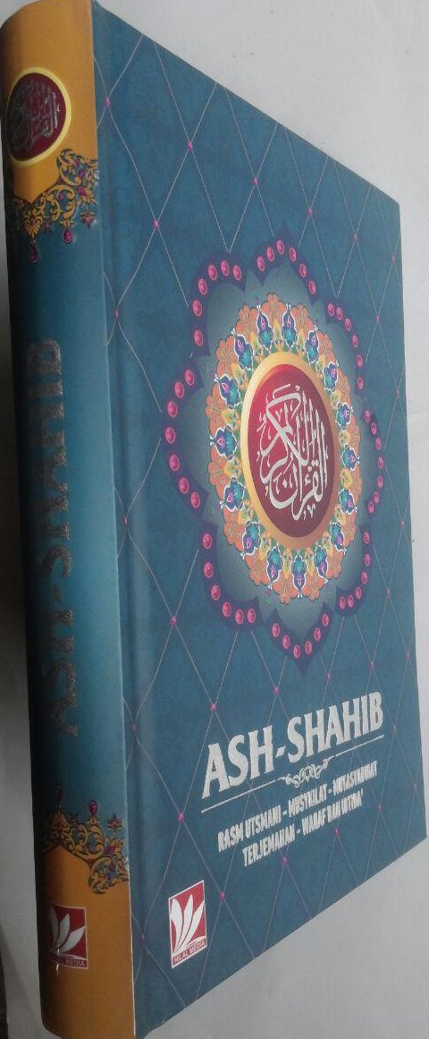 Al-Qur'an Terjemah Ash-Shahib Ukuran A5 110,000 15% 93,500 cover
