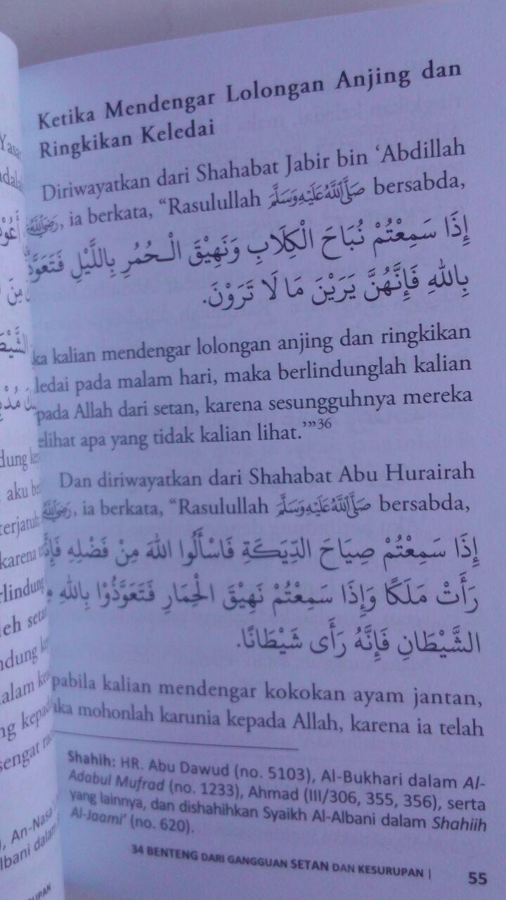 Buku 34 Benteng Dari Gangguan Setan Dan Kesurupan 16.000 15% 13.600 Darulkutub Abdul Hadi bin Hasan Wahbi isi 3