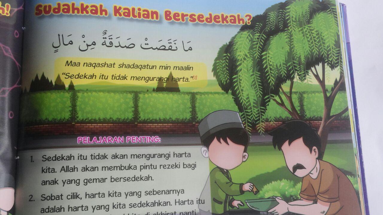Buku Anak Cerdas Hafal Hadis 100 Hadits Menuntut Ilmu Dll 90.000 20% 72.000 Perisai Quran Tim Perisai Quran isi 3
