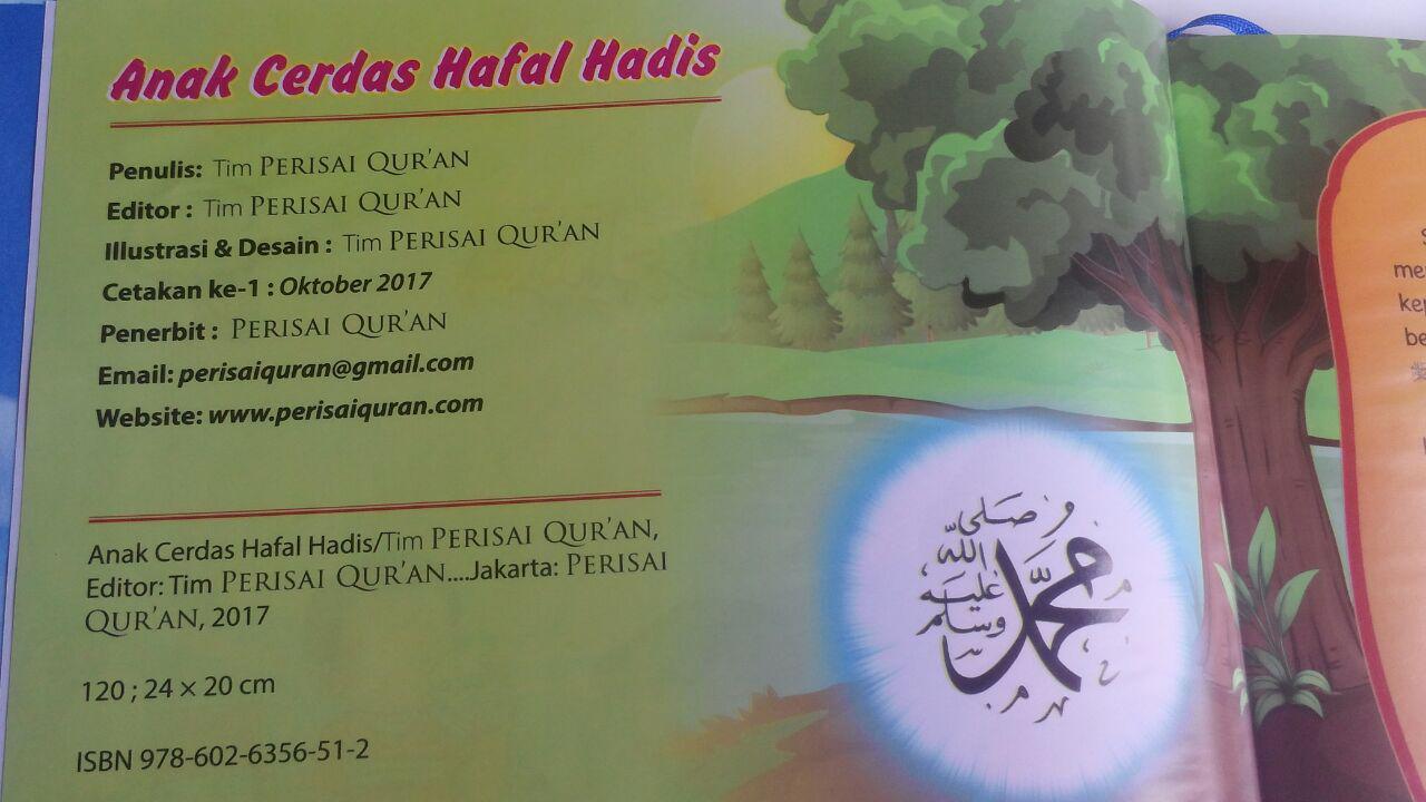 Buku Anak Cerdas Hafal Hadis 100 Hadits Menuntut Ilmu Dll 90.000 20% 72.000 Perisai Quran Tim Perisai Quran isi