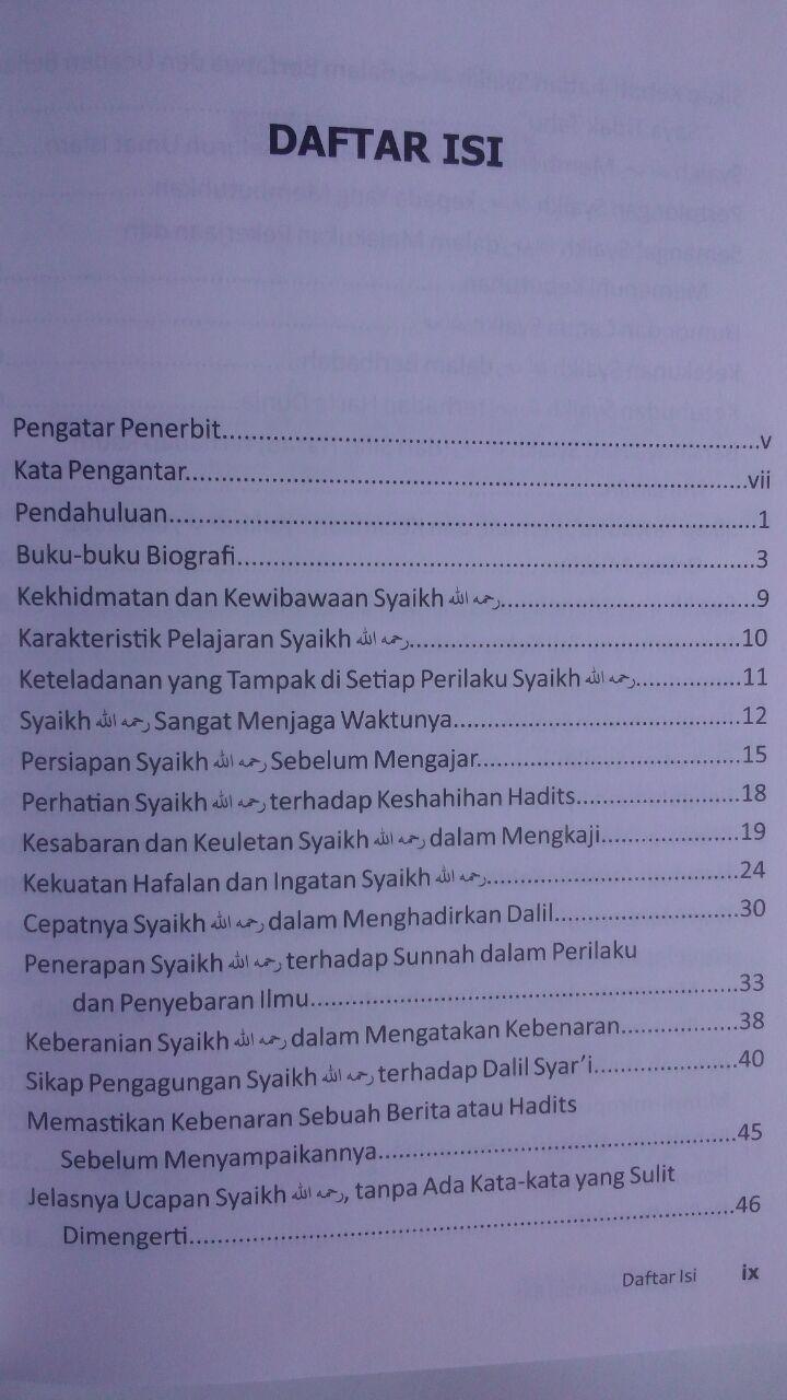 Buku Biografi Syaikh Bin Baz 30.000 15% 25.500 Khazanah Fawaid Abdul Aziz bin Muhammad As-Sadhan isi