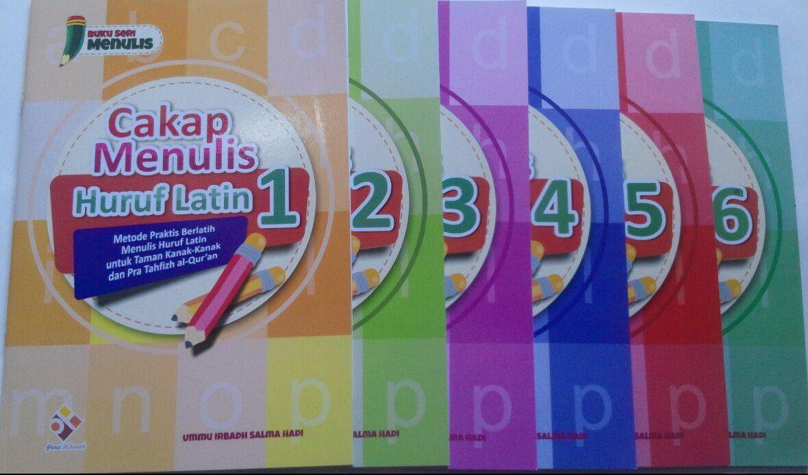 Buku Cakap Menulis Huruf Latin 1 Set 6 Jilid 57.000 10% 51.300 Pena Hikmah Ummu Irbadh Salma Hadi cover 5