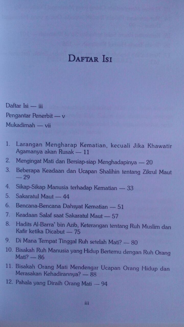 Buku Detik-Detik Sakaratul Maut Episode Paling Menentukan 35.000 15% 29.750 Aqwam Shalahudin As-Said isi 2