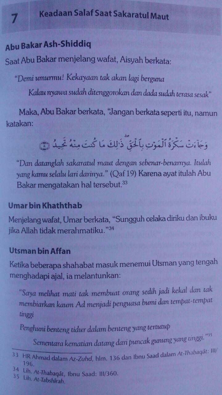 Buku Detik-Detik Sakaratul Maut Episode Paling Menentukan 35.000 15% 29.750 Aqwam Shalahudin As-Said isi 3