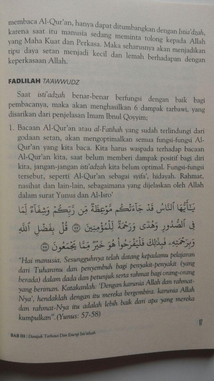 Buku Energi Al-Fatihah Sudahkah Kita Merasakannya 45.000 15% 38.250 Markaz Al-Quran Abdul Aziz Abdur Rauf isi 3