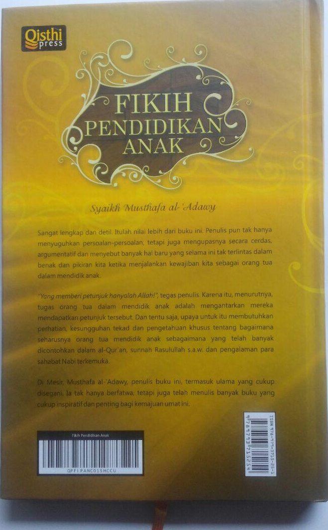 Buku Fikih Pendidikan Anak 69.000 20% 55.200 Qisthi Press Musthafa Al-Adawy cover