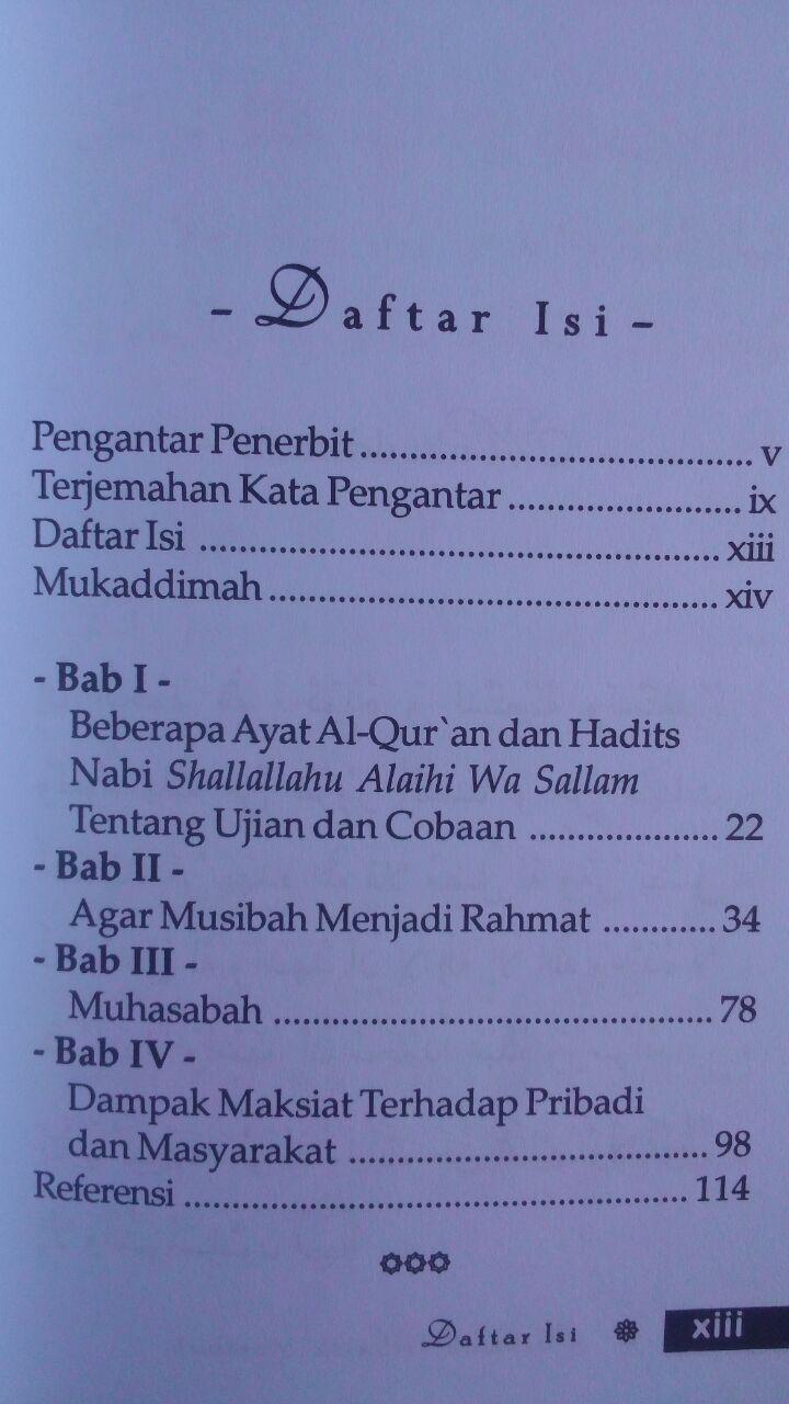 Buku Hikmah Di Balik Musibah Pesan Untuk Yang Tertimpa Musibah 15.000 15% 12.750 Darus Sunnah Fariq Gasim Anuz isi