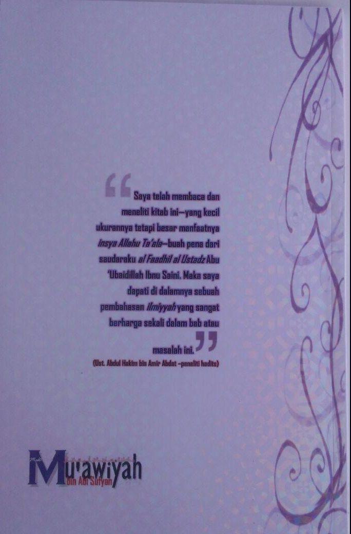 Buku Hukum Berjabat Tangan Di Dalam Islam 32.000 15% 27.200 Maktabah Muawiyah Bin Abi Sufyan Ibnu Saini bin Muhammad bin Musa cover