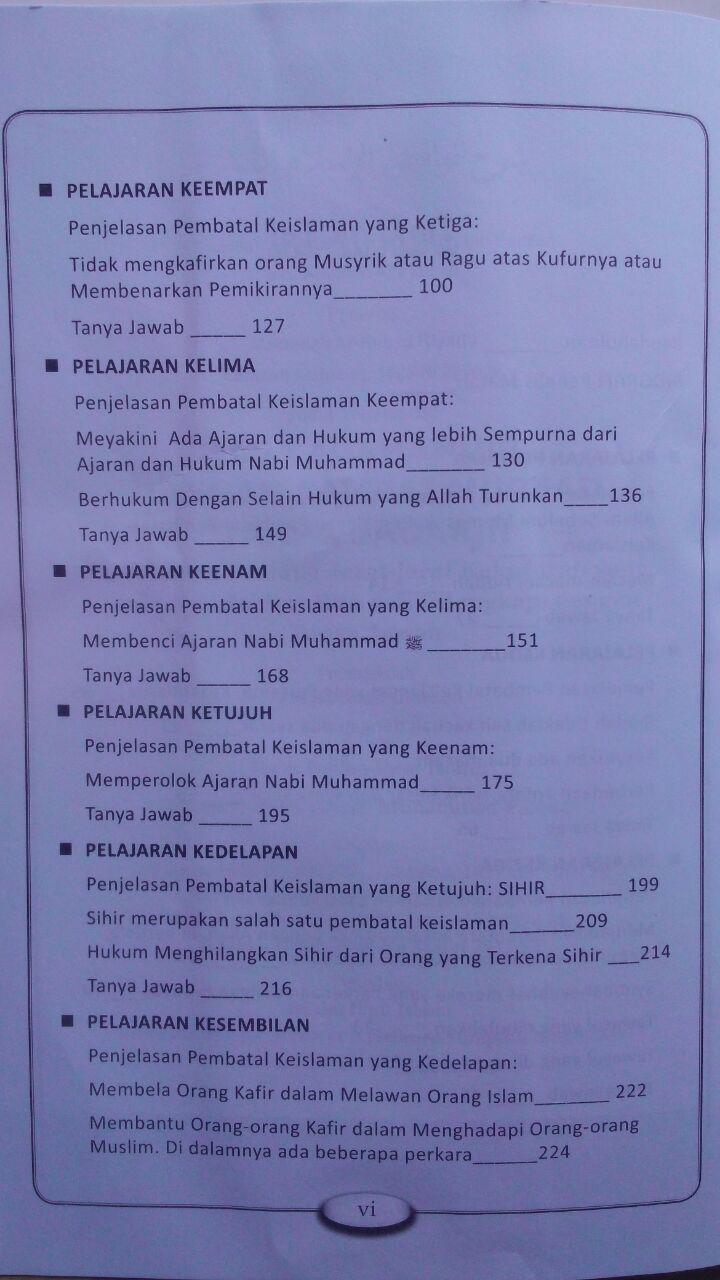 Buku Jaga Agamamu Jangan Sampai Murtad 85.000 20% 68.000 Buana Ilmu Islami isi 2