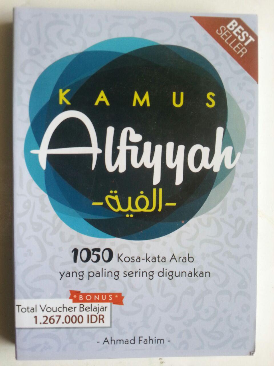 Buku Kamus Alfiyyah 1050 Kosakata Arab Yang Sering Digunakan cover 2